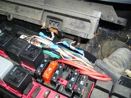 has any one wired up there flash their fog lights cliosport net next make up two lengths of wire a female spades at each end long enough to reach the bottom left of the fuse box