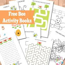free printable bee activity books itsy bitsy fun
