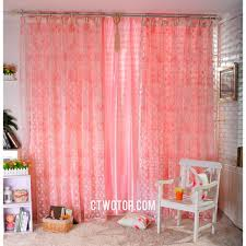 Sheer Bedroom Curtains Peach Curtains Sheer