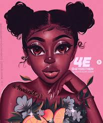 African Digital Art — dynamicafrica: Portraits of Moroccans by Spanish... |  Drawings of black girls, Black girl art, Black girl cartoon