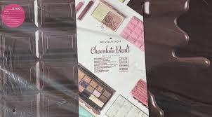 makeup i heart revolution chocolate vault eyeshadow kit gift set