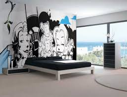 Best Urban Art Interiors Images On Pinterest - Hip hop bedroom furniture