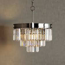 odeon crystal chandelier neiman marcus horchow chandeliers floor