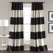 Black Patterned Curtains New Ideas