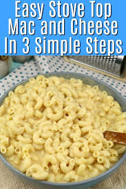 how to make stove top mac and cheese in