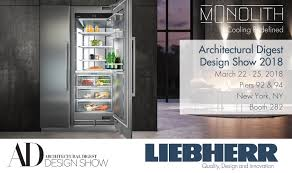 architectural digest home design show 2. Liebherr Appliances Is Returning To The Architectural Digest Design Show With Groundbreaking Products And Innovative Smart Technology. Home 2 T