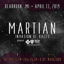 Image result for martian marathon