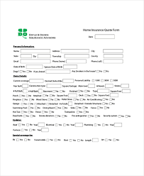homeowners insurance quote quote sheet commonpence co