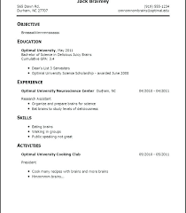 How To Write A Strong Resume How To Write A Good Resume For Your First Job Test Manager Cv Sample