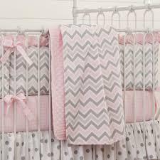 pink and gray chevron crib bedding share save 1