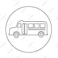 スクールバスのアイコン バス 学校 ベクトル画像素材の無料ダウンロード