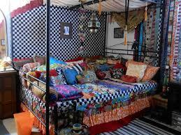 bohemian bedroom furniture. gypsy caravan bed bohemian bedroom furniture