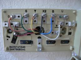 what would the wiring be replacing a trane baystat240 with a 5 wire thermostat at Trane Thermostat Wiring Color Code