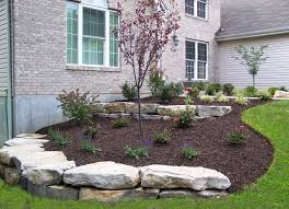 boulder retaining walls landscaping st louis landscape design within proportions 2832 x 2057