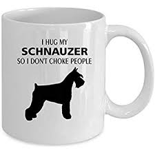 schnauzer coffee mug 15 oz schnauzer gift