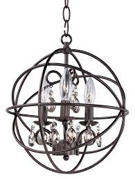 Richwood 3 Light Globe Chandelier Tiana 3 Light Globe Chandelier Home Ideas Globe