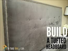 how to upholster a headboard tufted headboard diy tutorial ep 04 you