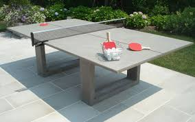 concrete ping pong table. James De Wulf Concrete Ping Pong Table Rypen