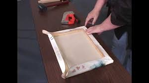 how to stretch a canvas for oil acrylic paintings giclees and prints you