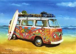 volkswagen van hippie wallpaper. vw hippie peace camper can painting by ian guy httpwww on volkswagen van wallpaper n