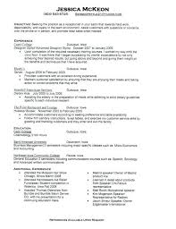 Receptionist Resume Objective Examples | Nfcnbarroom.com