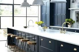 art kitchen vintage navy design with brass hardware cabinet doors deco cupboard handles