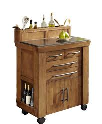 White Kitchen Cart With Granite Top Kitchen Carts Kitchen Island With Granite Top And Breakfast Bar