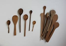 picture of diy hand carved wooden spoons