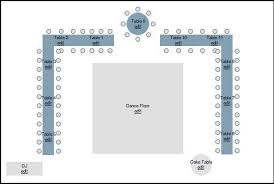 Hangar Theatre Seating Chart Sample Seating Diagram For Long Tables And A Sweetheart Or