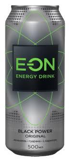 <b>Энергетический напиток</b> E-ON <b>Black</b> Power — купить по выгодной ...