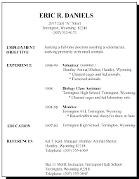 Simple Resume For Job Best Of Layout Of Resume For Job Resume Tutorial