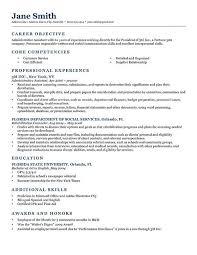 Resume Objective Customer Service College Resume Objective Examples Best Resume Collection 81