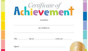 Free Award Certificate Templates For Students Editable Certificate