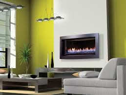 image of natural modern gas fireplace inserts ideas