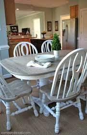 kitchen table oak