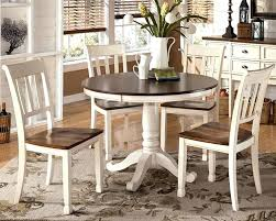 counter height pedestal dining table white cottage dining set with round counter height table american drew