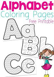 Free Alphabet Coloring Pages Free Alphabet Colouring Pages Preschool