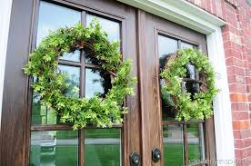 diy boxwood wreath cleverly inspired