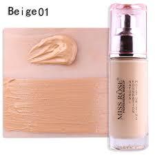 miss rose 50g round gl bottle face makeup base liquid foundation acne cream concealer moisturizer primer beauty cosmetics incoins imall