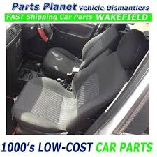06 meriva 5dr interior seat with headrest passenger front left breaking
