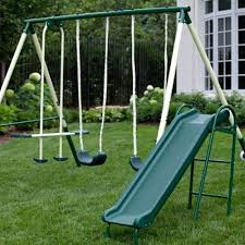 Image result for Swing set