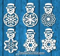 scroll saw christmas ornaments. scroll saw patterns :: holidays christmas traditional ornaments snowman n