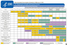 Vaccination Chart For Babies Usa 20in X30in Poster Immunization Schedule 2016 For Doctors