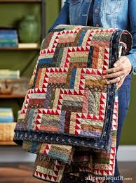 "Best 25+ American patchwork and quilting ideas on Pinterest ... & ""Stairsteps"", the pattern, by designer Jo Kramer of Jo's Country Junction,  appears in the American Patchwork & Quilting August 2016 issue. Adamdwight.com"