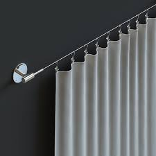 full size of curtain fasthomegoods soho expandable chrome curtain wire rod hanger of stunning curtain