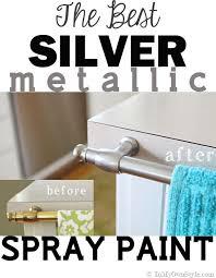 spray painting metal hardware brass to nickel silver