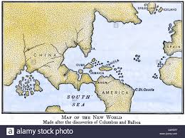 New World Map Showing South America Attached To Asia As Assumed