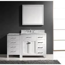 aqua ine parkway 57 inch single sink bathroom vanity