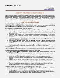 Hr Resume Templates New Httpinformationgatenetresumeletterhrofficercareer