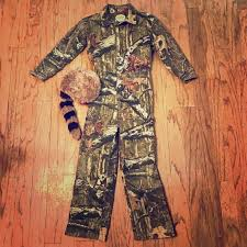 Cabela S Outfitters For Kids Camouflaged Jumpsuit